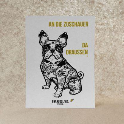 Postkarte Zivilcourage